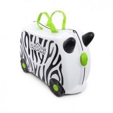 英國 Trunki 小朋友行李箱 - 斑馬